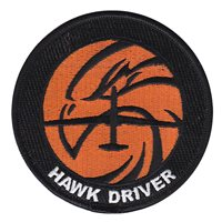12 RS Hawk Driver Patch
