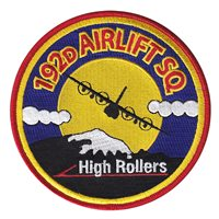 192 AS High Rollers Patches
