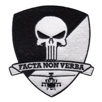 C1-149 ARB Punisher Black and White Patch