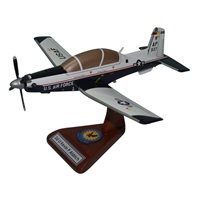 455 FTS T-6A Texan II Custom Airplane Model