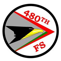 480 FS F-4 Phantom II Custom Airplane Briefing Sticks