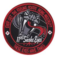 11 RS Snake Eyes Patch