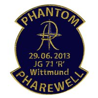 Phantom Pharewell F-4E Phantom II Custom Airplane Briefing Sticks