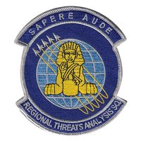 655 ISRG Regional Threats Analysis Squadron Patches