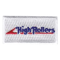 192 AS High Rollers Pencil Patch