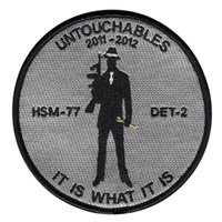 HSM-77 Det 2 Untouchables Patch