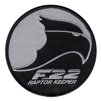 F-22 Raptor Keeper Patch