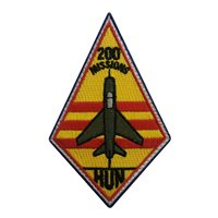434 FTS Hun 200 Missions Patch