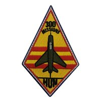 434 FTS Hun 300 Missions Patch