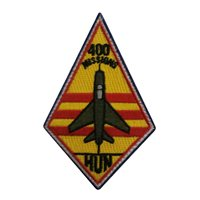 434 FTS Hun 400 Missions Patch