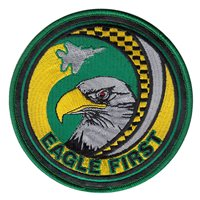 757 AMXS Eagle First Patch With Leather
