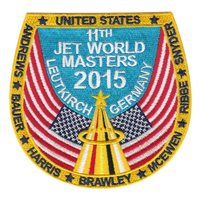 Team USA 2015 Jet World Masters Patch