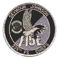335 FS F-15E Patch
