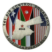 141 ACS Challenge Coin