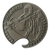Club Eifel Mustache 2015 Bottle Opener Coin