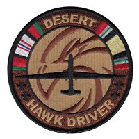 12 RS Desert Hawk Driver Patch