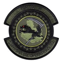 524 SOS Subdued Evaluator Patch