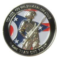 178 ISRW First Sergeant Group Challenge Coin