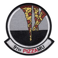 9 AMU Pizza Patch