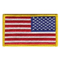 USA Flag Color Reversed Patch