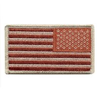 U.S. Flag Desert Reverse Patch