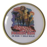 VFW Patriot Run Memorial Challenge Coin