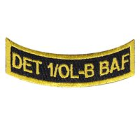 8 EAMS Det 1 OLB BAF Patch