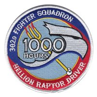302 FS Hellion Raptor Driver 1000 Hours Patch