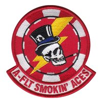 20 RS A-Flight Smokin Aces Patch