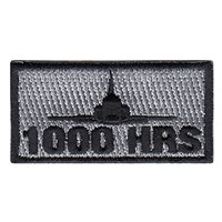 T-38 1000 Hours Pencil Patch