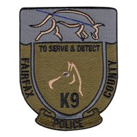 Fairfax County Police K9 Unit Patch