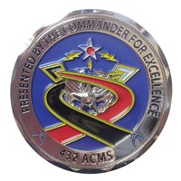 432 ACMS Commander Coin