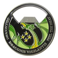 12 ACCS Bottle Opener Challenge Coin
