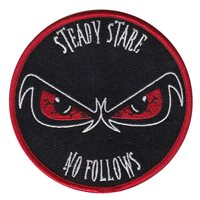 3 SOS Steady Stare No Follows Patch