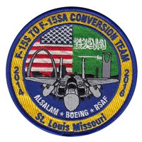 416 FLTS F-15SA Conversion Team Patch
