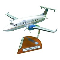 Continental Connection Beechcraft 1900D Custom Airplane Model