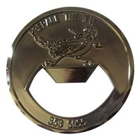 353 SOSS Bottle Opener Coin