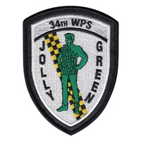 34 WPS Jolly Green Patch with Leather