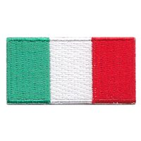 Italy Flag Pencil Patch