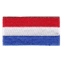 Netherlands Flag Pencil Patch