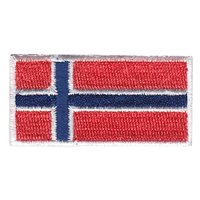 Norway Flag Pencil Patch