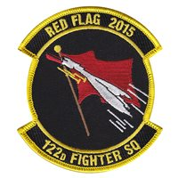 122 FS Red Flag 2015 Patch