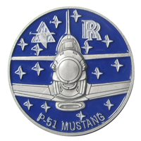 P-51 Petie 2nd Mustang Coin