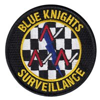 963 AACS Blue Knights Surveillance Patch