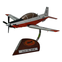 VT-2 T-6B Texan II Custom Airplane Model