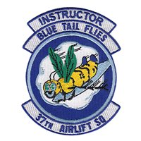 37 AS Instructor Patch