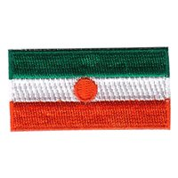 Niger Flag Pencil Patch