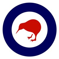 Royal New Zealand Air Force T-6C Custom Airplane Tail Flash