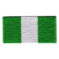 Nigerian Flag Pencil Patch