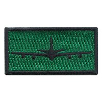 E-8C JSTARS Green Pencil Patch